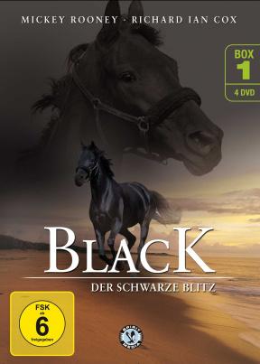Black, der schwarze Blitz - Box 1