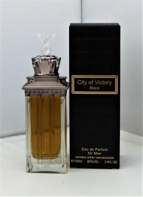 City of Victory Black Eau de Parfum für Ihn (EdP)