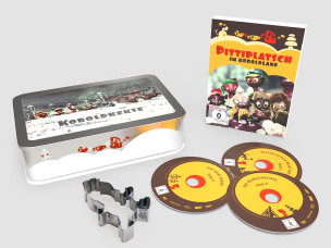 "DVD-Box "" Pittiplatsch im Koboldland """