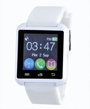 Smartwatch mit Bluetooth® weiß