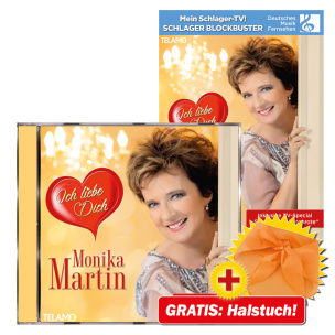 Ich liebe dich CD+DVD-Paket + GRATIS Halstuch