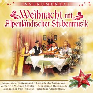 Weihnachten mit alpenländischer Stubenmusik (CD)
