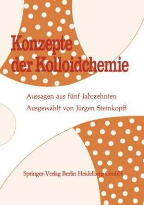 Konzepte der Kolloidchemie