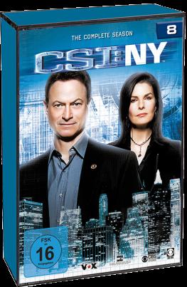 CSI: NY - Komplette Staffel 8