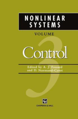 Nonlinear Systems. Vol.3