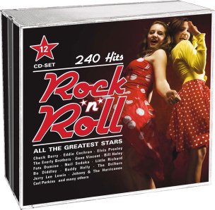 Rock'n'Roll - all the greatest Stars - 240 Hits