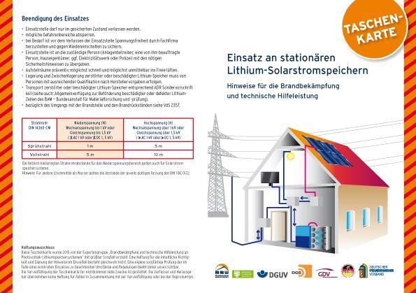Einsatz an stationären Lithium-Solarstromspeichern