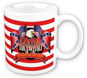 Lynyrd Skynyrd Eagle and Flags Tasse