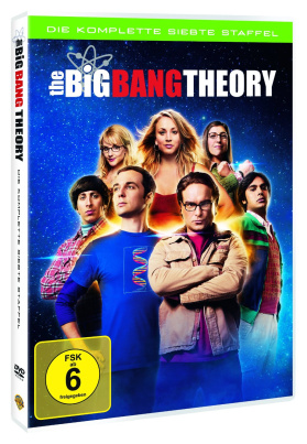The Big Bang Theory - Die komplette siebte Staffel