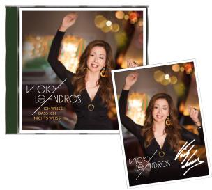 Vicky Leandros - Ich weiß,dass ich nichts weiß Premium + EXKLUSIV Autogrammkarte