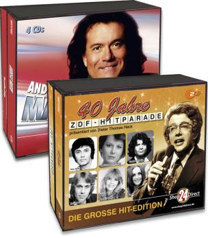 Andreas Martin + 40 Jahre ZDF - Hitparade