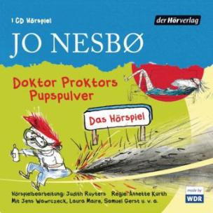Doktor Proktors Pupspulver, 1 Audio-CD