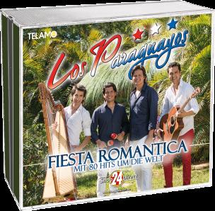 Fiesta Romantica - Mit 80 Hits um die Welt