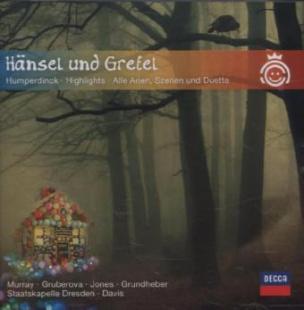 Hänsel und Gretel, 1 Audio-CD