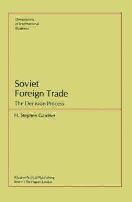 Soviet Foreign Trade