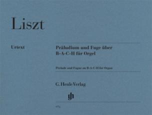 Präludium und Fuge über B-A-C-H, Orgel