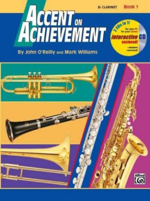 Accent On Achievement, komb. Percussion. Bk.1