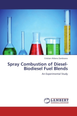 Spray Combustion of Diesel-Biodiesel Fuel Blends