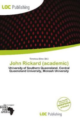 John Rickard (academic)
