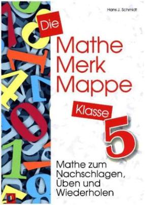Die Mathe-Merk-Mappe, Klasse 5