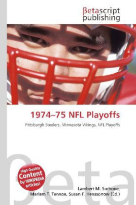 1974 75 NFL Playoffs