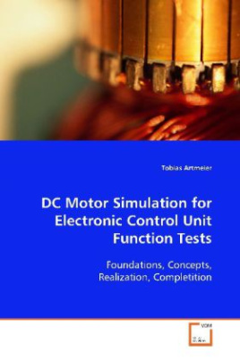 DC Motor Simulation for Electronic Control Unit Function Tests