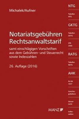 Notariatsgebühren und Rechtsanwaltstarif (f. Österreich)