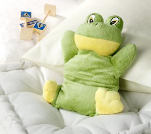 Plüsch-Wärmetier Frosch