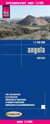 World Mapping Project Reise Know-How Landkarte Angola (1:1.400.000)