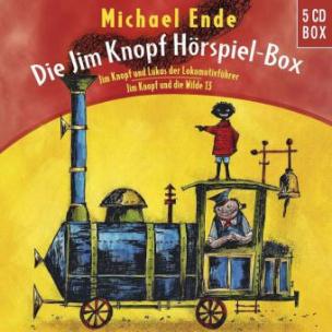 Die Jim Knopf und Lukas der Lokomotivführer Hörspiel-Box, 5 Audio-CDs
