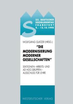 Die Modernisierung moderner Gesellschaften