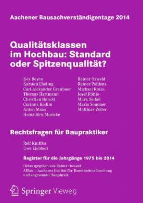Qualitätsklassen im Hochbau: Standard oder Spitzenqualität?