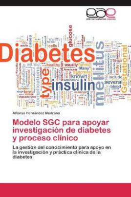 Modelo SGC para apoyar investigación de diabetes y proceso clínico