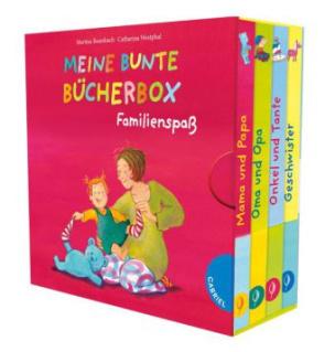 Meine bunte Bücherbox, Familienspaß, 4 Bde.