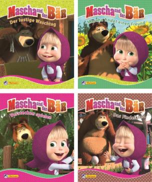 Mascha und der Bär. Nr.1-4