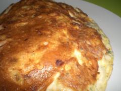 Garnelen Omelette mit Oliven und Chili