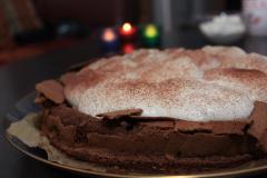 Schokoladen Wolken Kuchen