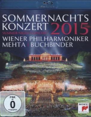 Sommernachtskonzert 2015 / Summer Night Concert 2015, 1 Blu-ray