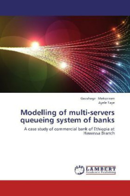 Modelling of multi-servers queueing system of banks