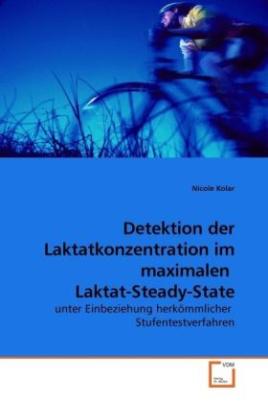 Detektion der Laktatkonzentration im maximalen Laktat-Steady-State
