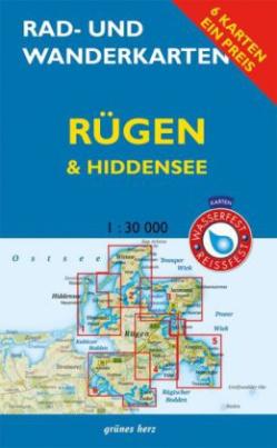 Rad- und Wanderkarten-Set: Rügen & Hiddensee, 6 Bl.