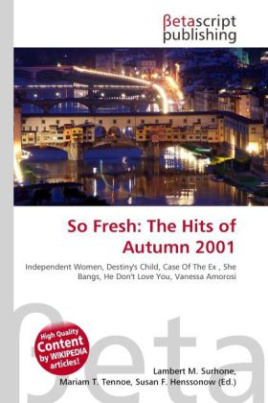 So Fresh: The Hits of Autumn 2001