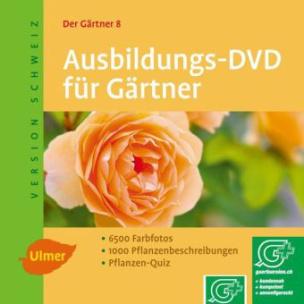 Ausbildungs-DVD für Gärtner, Ausgabe Schweiz, 1 DVD-ROM