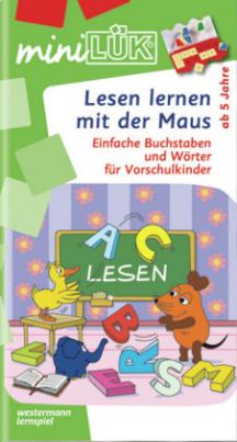 Lesen lernen mit der Maus. Tl.1