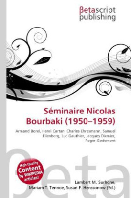 Séminaire Nicolas Bourbaki (1950 - 1959 )