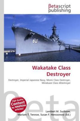Wakatake Class Destroyer