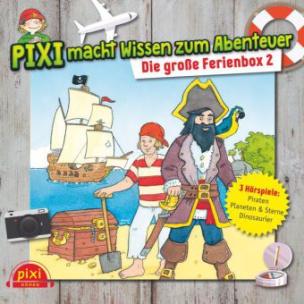Pixi macht Wissen zum Abenteuer: Die große Ferienbox, 3 Audio-CDs. Box.2