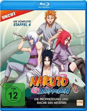 Naruto Shippuden - Die Prophezeiung und Rache des Meisters, Uncut, 1 Blu-ray