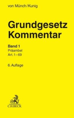 Grundgesetz-Kommentar (GG), 2 Bde.