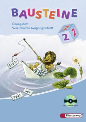 2. Schuljahr, Übungsheft Vereinfachte Ausgangsschrift, m. CD-ROM
